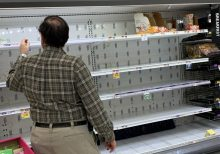 Shoppers stocking up for coronavirus find empty shelves across US
