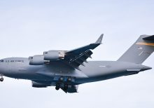 Air Force flew 500,000 coronavirus test swabs from Italy to Tennessee