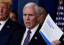Member of Pence's office tests positive for coronavirus, spokeswoman announces