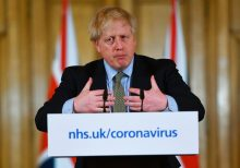 Amid coronavirus, Boris Johnson calls for keeping distance on UK Mother's Day
