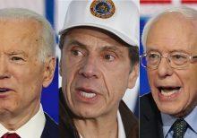 Cuomo's coronavirus TV briefings may have Biden, Sanders worried