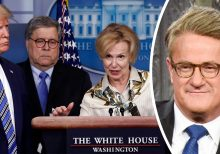 MSNBC's Joe Scarborough ripped for falsely claiming 'no doctors' were at White House presser, urges network...