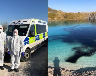 Coronavirus lockdown spurs police in England to dye 'Blue Lagoon' black to deter Instagrammers