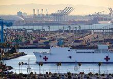 California engineer derails train over suspicion about coronavirus aid ship USNS Mercy, feds say