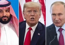 Stocks soar after Trump says he expects Russia, Saudi Arabia to slash oil production