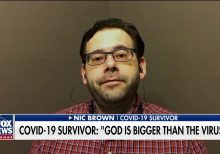 COVID-19 survivor dubbed a 'walking miracle' shares message of faith