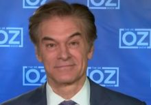 Dr. Oz says wearing a cloth mask outside is 'better than nothing but not a ton better than nothing'