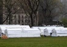 Catholic group slams de Blasio for questioning charity's New York coronavirus field hospital