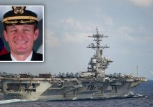 Acting Navy Sec. blasts ousted USS Theodore Roosevelt's captain as 'naive' and 'stupid' in address to ship'...