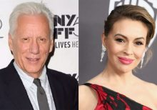 James Woods slams Alyssa Milano over anti-gun tweet: 'Buy more ammo!'