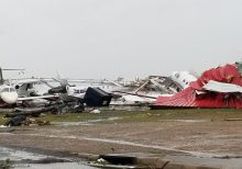 Tornado strikes Monroe, Louisiana, as severe weather outbreak unfolds on Easter in South