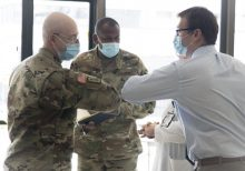 Army helping to combat coronavirus at New Jersey hospital