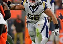 Rams Brian Allen first NFL player to test positive for coronavirus