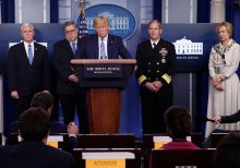 Trump unveils coronavirus guidelines for rolling back social distancing in phases: 'Next front in our war'