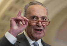 Schumer defends adding demands to small business relief because they 'are now going into the bill'