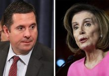 Nunes claims media double standard over Pelosi ice-cream incident: McConnell would be 'thrown out' as leader