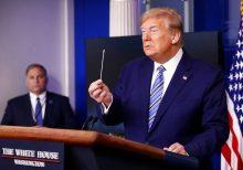 Trump announces coronavirus testing milestone, says PPP stimulus deal imminent