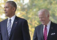 Trump tweets satirical video of Obama shrugging off awkward Biden comments