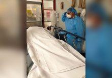 Florida nurse pays tribute to coronavirus victim, a fellow veteran, in touching photo