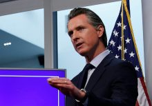 Newsom won't share details on $1B mask deal with China