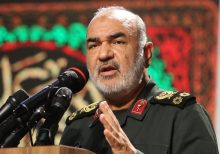 Iran military chief warns its forces will 'destroy' US warships if threatened in Persian Gulf