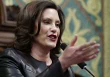 Michigan Gov. Whitmer faces protest outside her home as lawmakers mull curbing her powers