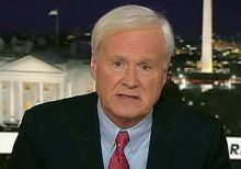 Chris Matthews calls accuser's claim 'credible': 'I didn't argue about it, I didn't deny it'