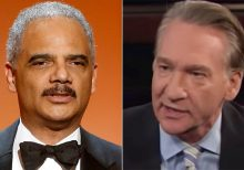 Eric Holder defends Biden, tells Bill Maher it's Trump supporters 'fanning' Tara Reade's claims