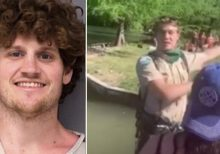 Texas park ranger asking people to comply with social distancing is pushed into lake; suspect arrested