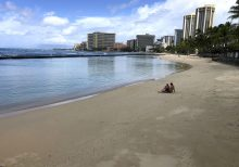 Newlyweds arrested for violating coronavirus social distancing after Hawaii hotel tips off cops