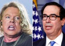 Axl Rose, Steve Mnuchin ignite wild feud on Twitter