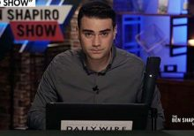 Ben Shapiro scolds CBS reporter for 'dumba-