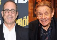 Jerry Stiller was 'never' given performance note by Jerry Seinfeld on show, comedian says: 'Whatever he did...