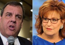 Chris Christie clashes with 'View' co-host Joy Behar: 'You're not welcome to your own set of facts'