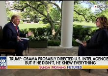 President Trump discusses bombshell revelations in Flynn case in exclusive interview with Maria Bartiromo