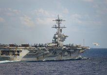 USS Theodore Roosevelt returning to sea as China steps up coronavirus-era 'harassment' of US spy planes, ships
