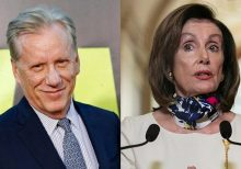 James Woods hits back at 'morbidly corrupt' Nancy Pelosi after negative comment about Donald Trump