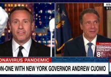 CNN's Chris Cuomo does prop comedy with NY Gov. Andrew Cuomo, fails to ask about nursing-home controversy
