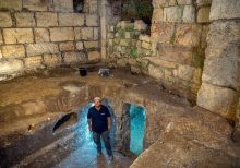 Hidden underground chambers discovered near Western Wall in Jerusalem