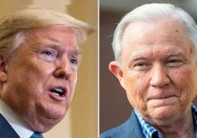Trump rips Jeff Sessions, backs his Senate-runoff opponent: 'He let our Country down'