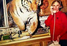 Tippi Hedren, 90, still lives with '13 or 14 lions and tigers,' granddaughter Dakota Johnson reveals