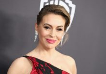 Alyssa Milano roasted on Twitter after posting crocheted face mask: 'Masks keep people safe and healthy'
