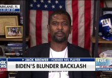 Former NFL player Jack Brewer on Biden backlash over black voter comment: 'The mask is off'