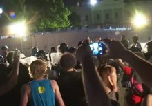 Fox News crew harassed, chased by angry mob while reporting on protests outside White House