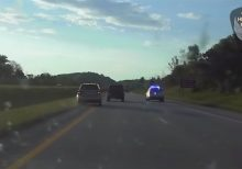 WATCH: Ohio troopers assist woman whose brakes gave out on highway