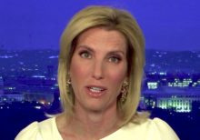 Laura Ingraham says riots are part of 'coordinated effortto eventually overthrow' the US government