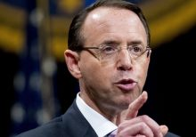 Rosenstein denies he suggested wearing wire, invoking 25th Amendment against Trump