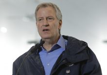 NYC Mayor de Blasio drowned out by boos, faces calls to resign, at George Floyd memorial