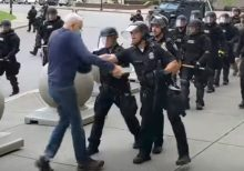 Buffalo mayor says 75-year-old man pushed to ground was 'agitator' as he says he won't be firing cops