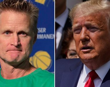 Warriors' Steve Kerr says Trump is 'drawing the battle lines for the election' amid George Floyd protests
